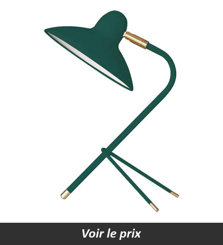 Lampe de bureau laiton