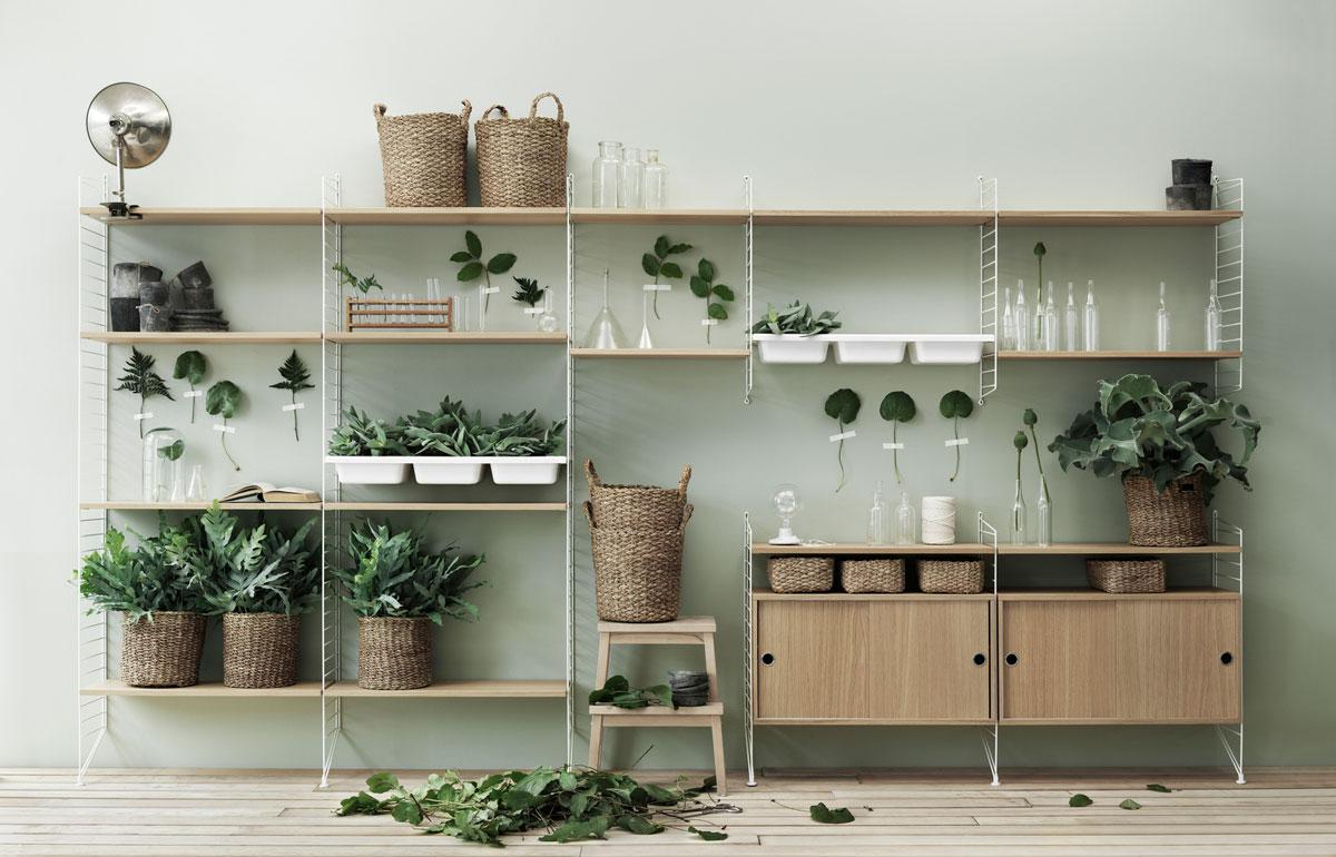Etagere Pour Plantes Interieures 17 idées pour décorer sa maison avec des plantes vertes