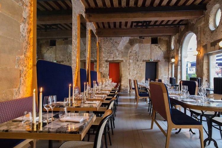 beau restaurant paris Grand Coeur