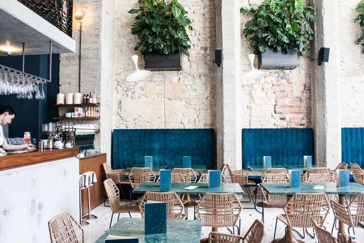 les plus beaux restaurants de paris Daroco