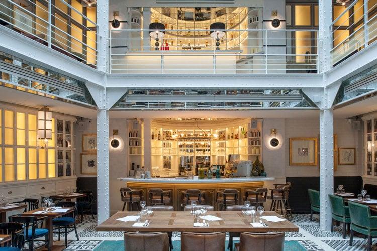 les plus beaux restaurants de paris Les chouettes