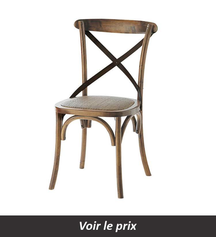 Chaise bistrot Maisons du monde