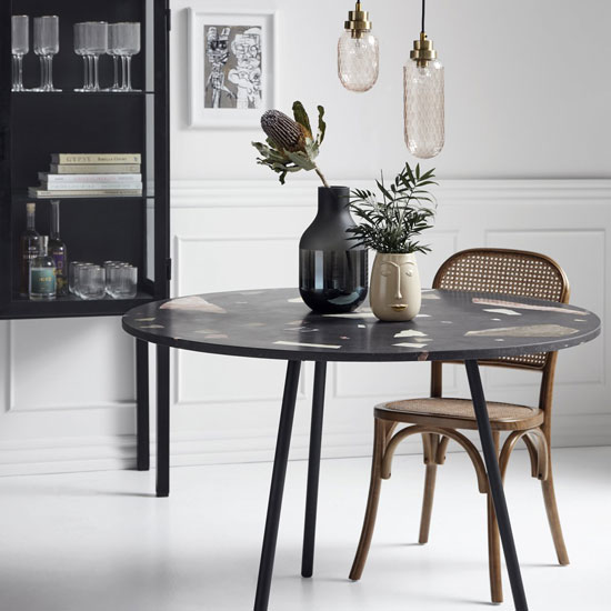 Chaise bistrot en cannage
