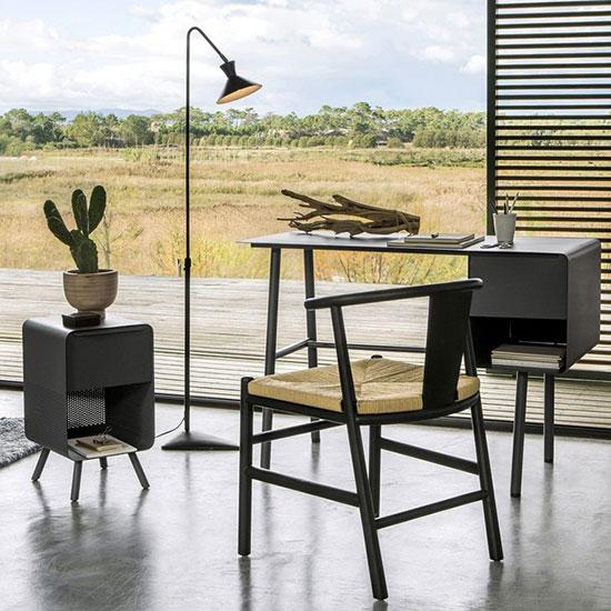 Chaise design pied bois