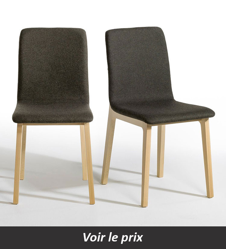 chaise design contemporain