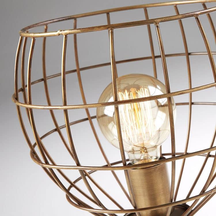 Lampe cage trépied