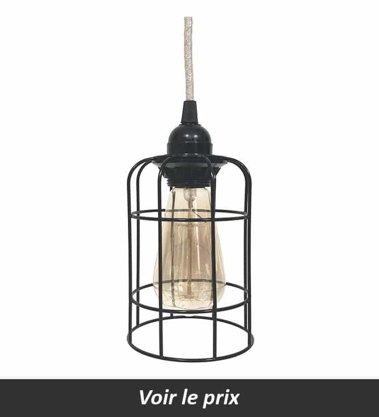 mini lampe cage Anso