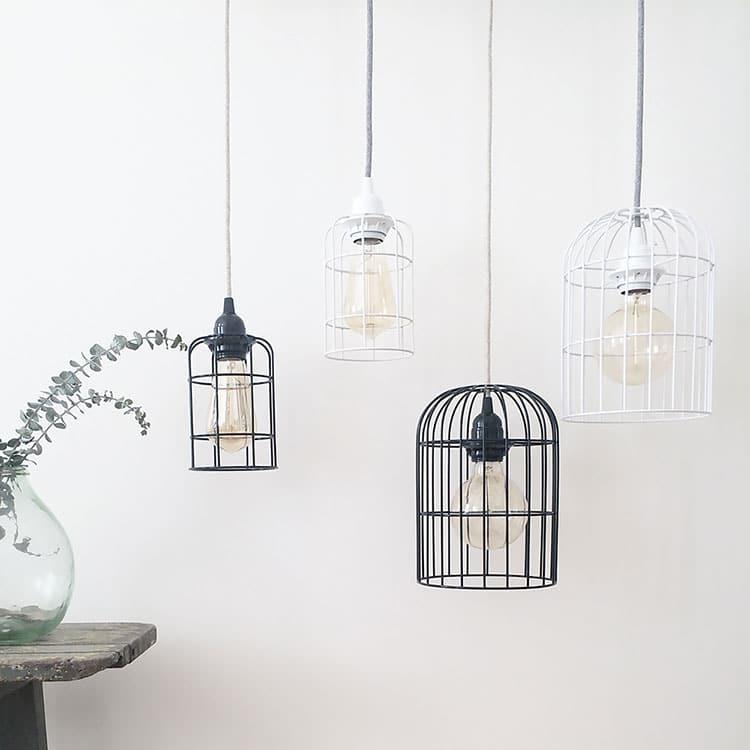 Mini lampe cage