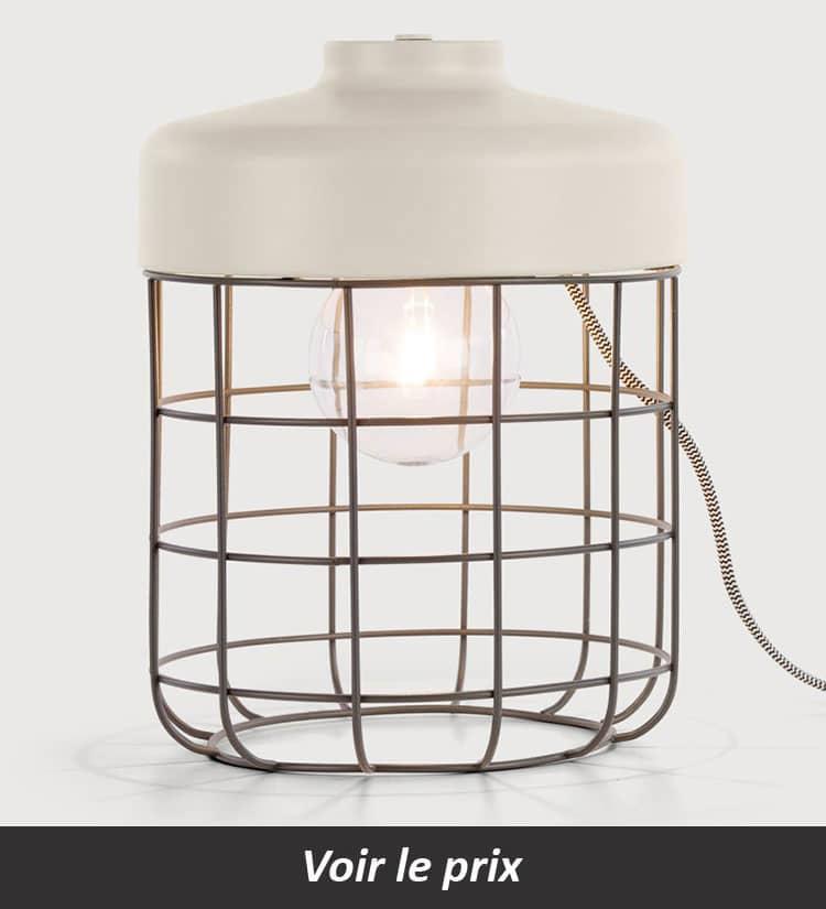 baladeuse Lampe cage