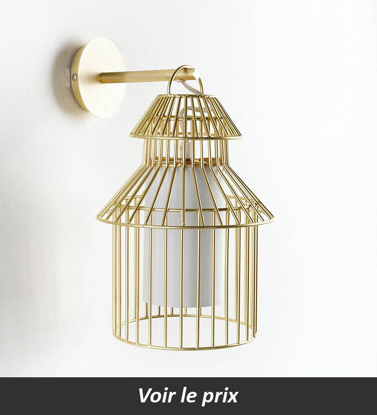 Où acheter une lampe cage?