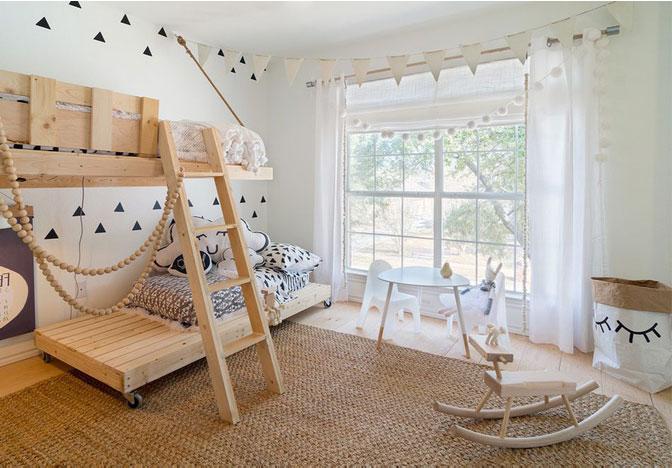 lit en palette 26 id es pour en fabriquer un dans votre chambre. Black Bedroom Furniture Sets. Home Design Ideas