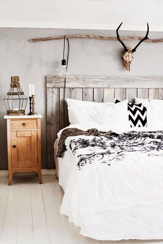 fabriquer une tete de lit en bois de palette
