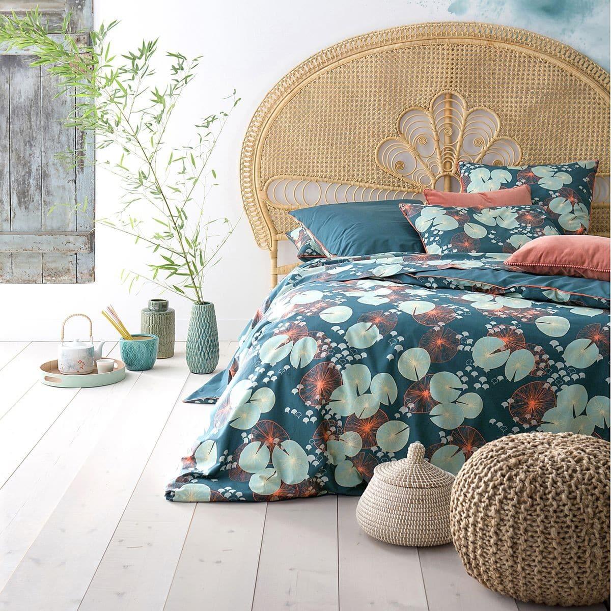 Tête de lit rotin