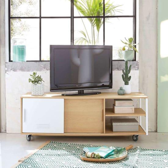 Meuble tv industriel pas cher