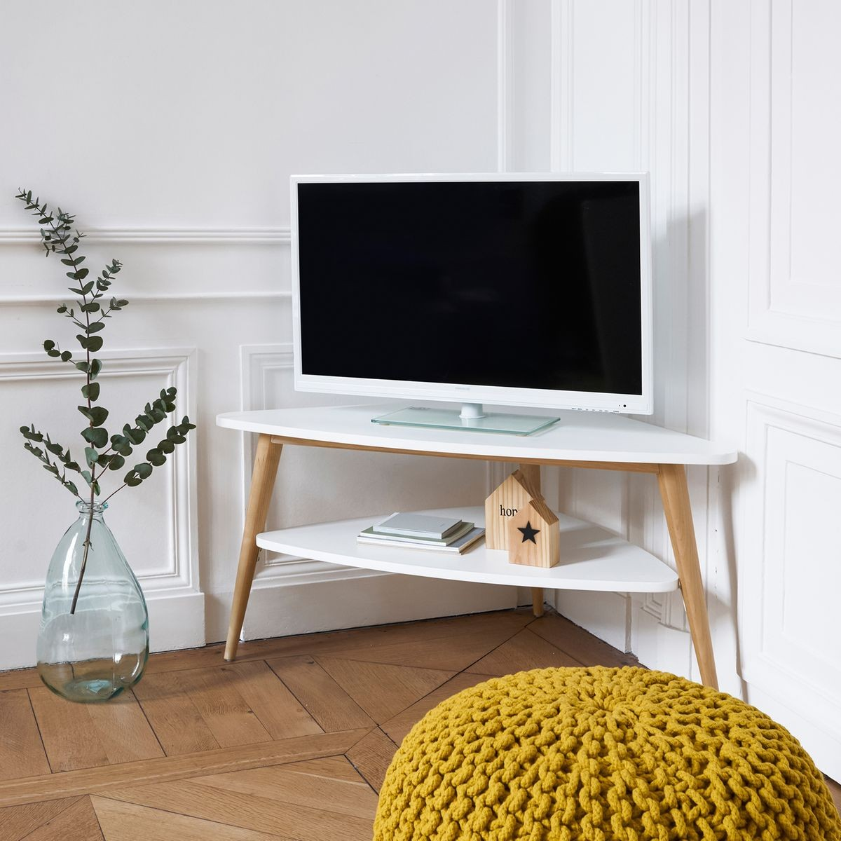 Meuble tv d'angle scandinave