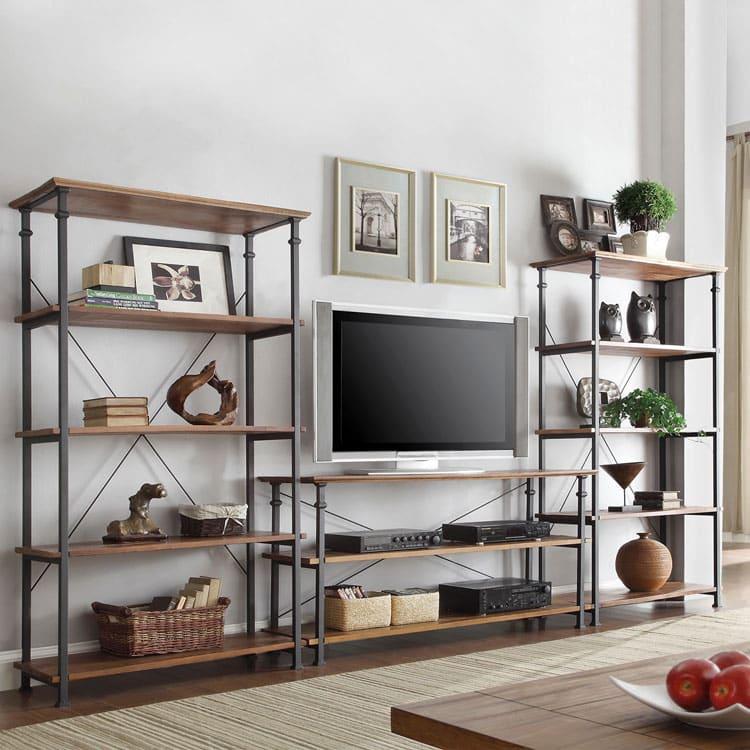 meuble tv industriel étagère
