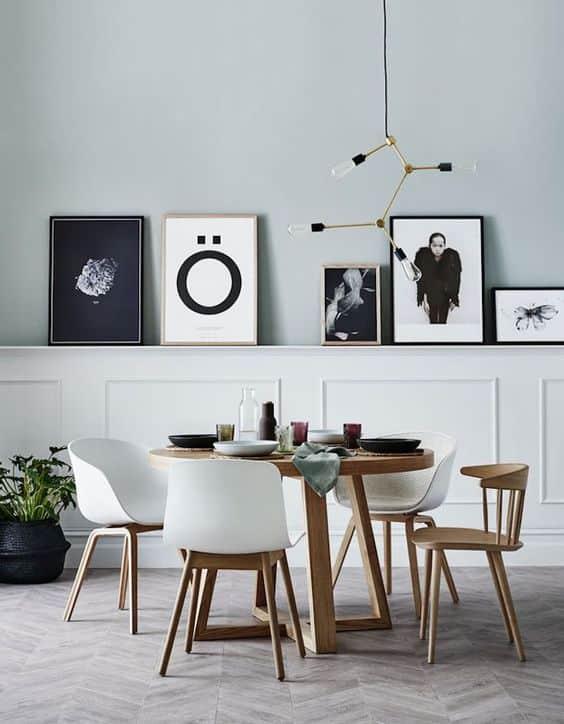 Chaise de salle à manger