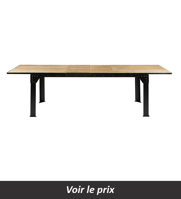 Table salle a manger extensible Factory