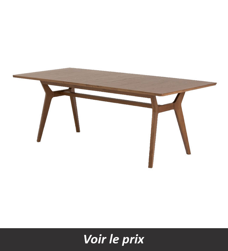 Table salle a manger extensible Jenson
