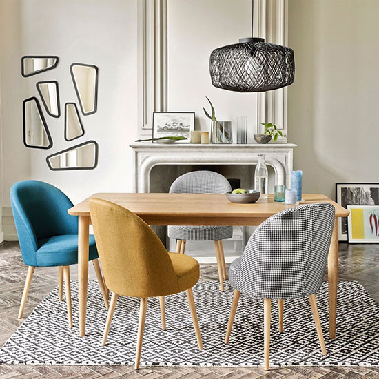 Table salle a manger extensible scandinave