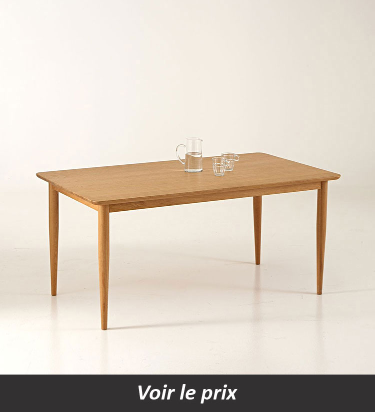 Table salle a manger extensible Quilda
