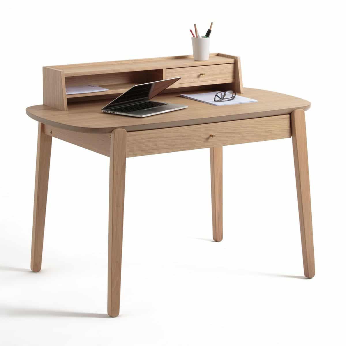 bureau en bois quel mod le choisir pour une d co ind modable. Black Bedroom Furniture Sets. Home Design Ideas