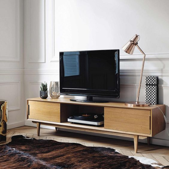meuble tv quel meuble choisir pour votre salon. Black Bedroom Furniture Sets. Home Design Ideas