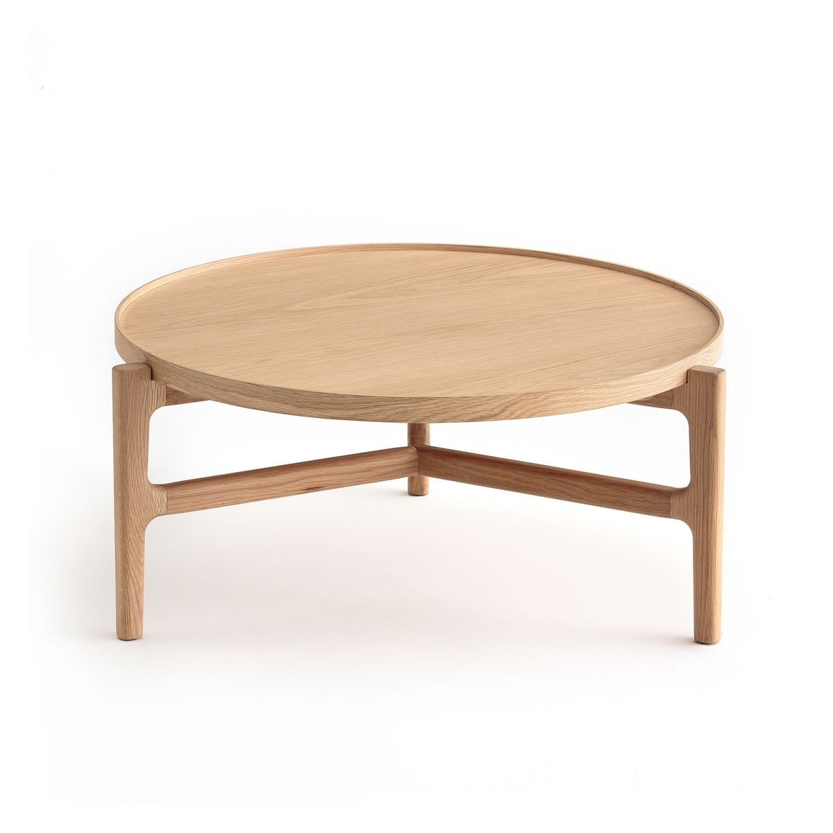 Table basse gigogne ronde