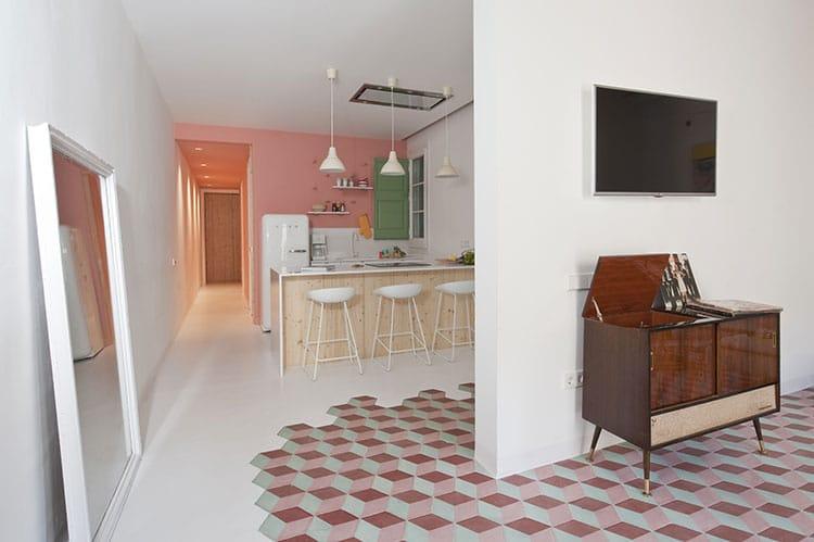 carreaux de ciment 6 fa ons de les int grer dans votre d co. Black Bedroom Furniture Sets. Home Design Ideas