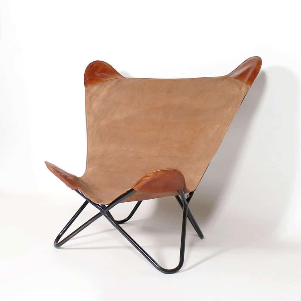 fauteuil cuir vintage