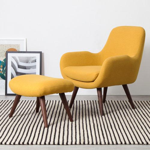 Fauteuil Jaune Vintage quel fauteuil jaune choisir pour illuminer la déco de son séjour?