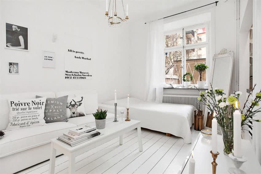plancher blanchi