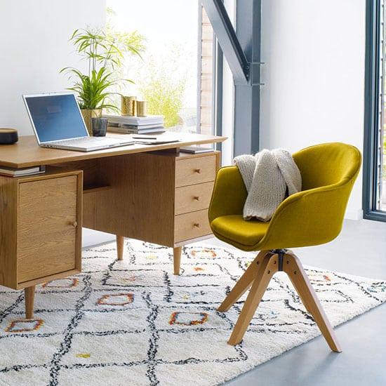 fauteuil de bureau la redoute soldé