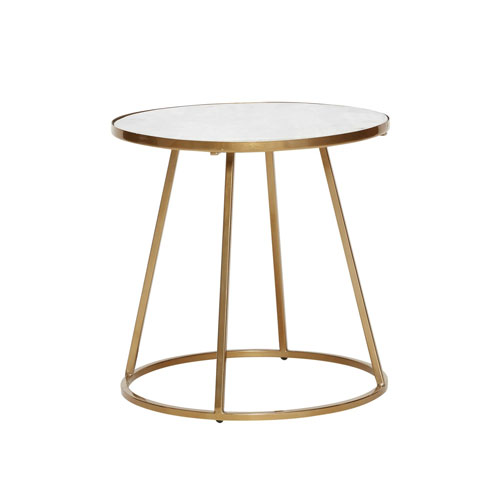 Table basse ronde marbre