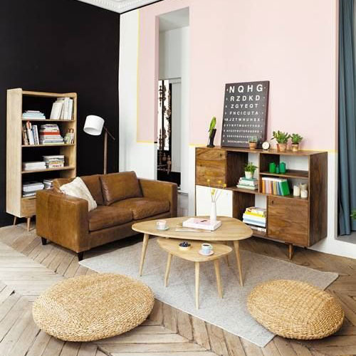 13 astuces d co pour cr er un salon scandinave chez vous. Black Bedroom Furniture Sets. Home Design Ideas