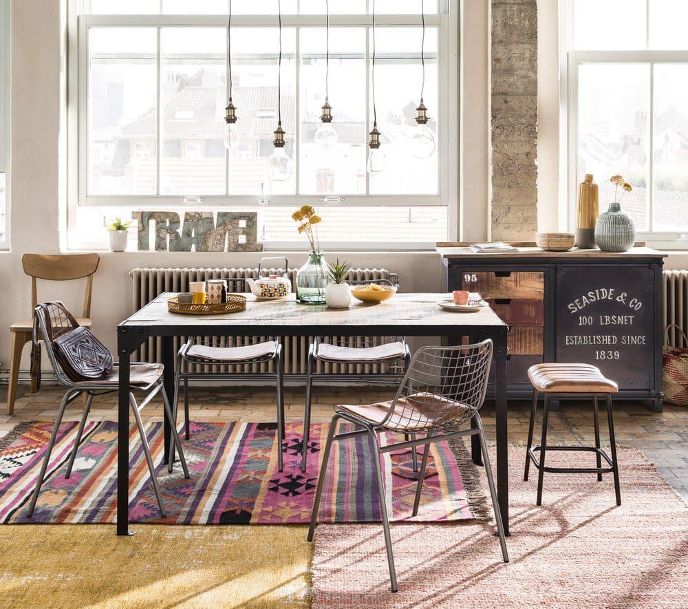 tapis laine maison du monde simple tapis scandinave maison du monde fraistapis laine maison du. Black Bedroom Furniture Sets. Home Design Ideas