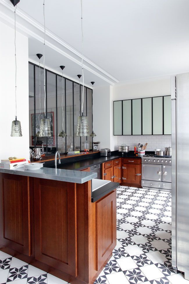 cuisine appartement parisien