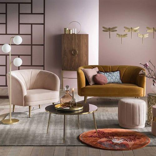 canap velours quel mod le choisir pour un cachet unique. Black Bedroom Furniture Sets. Home Design Ideas