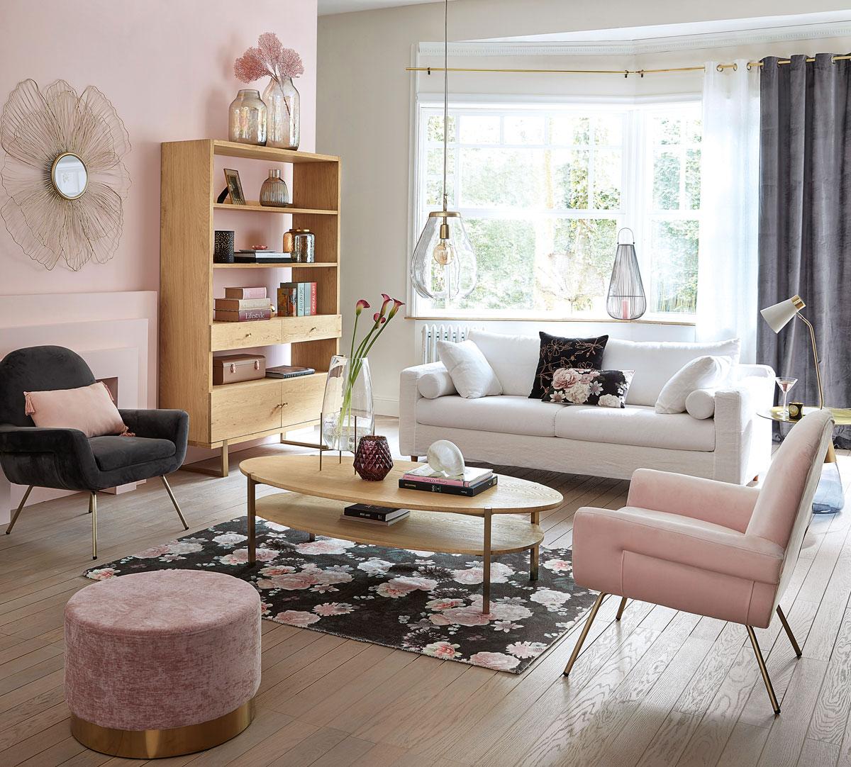 un canap convertible maisons du monde pour recevoir ses. Black Bedroom Furniture Sets. Home Design Ideas