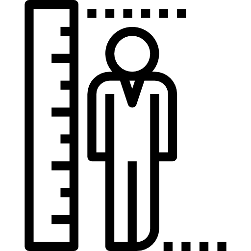 icone hauteur