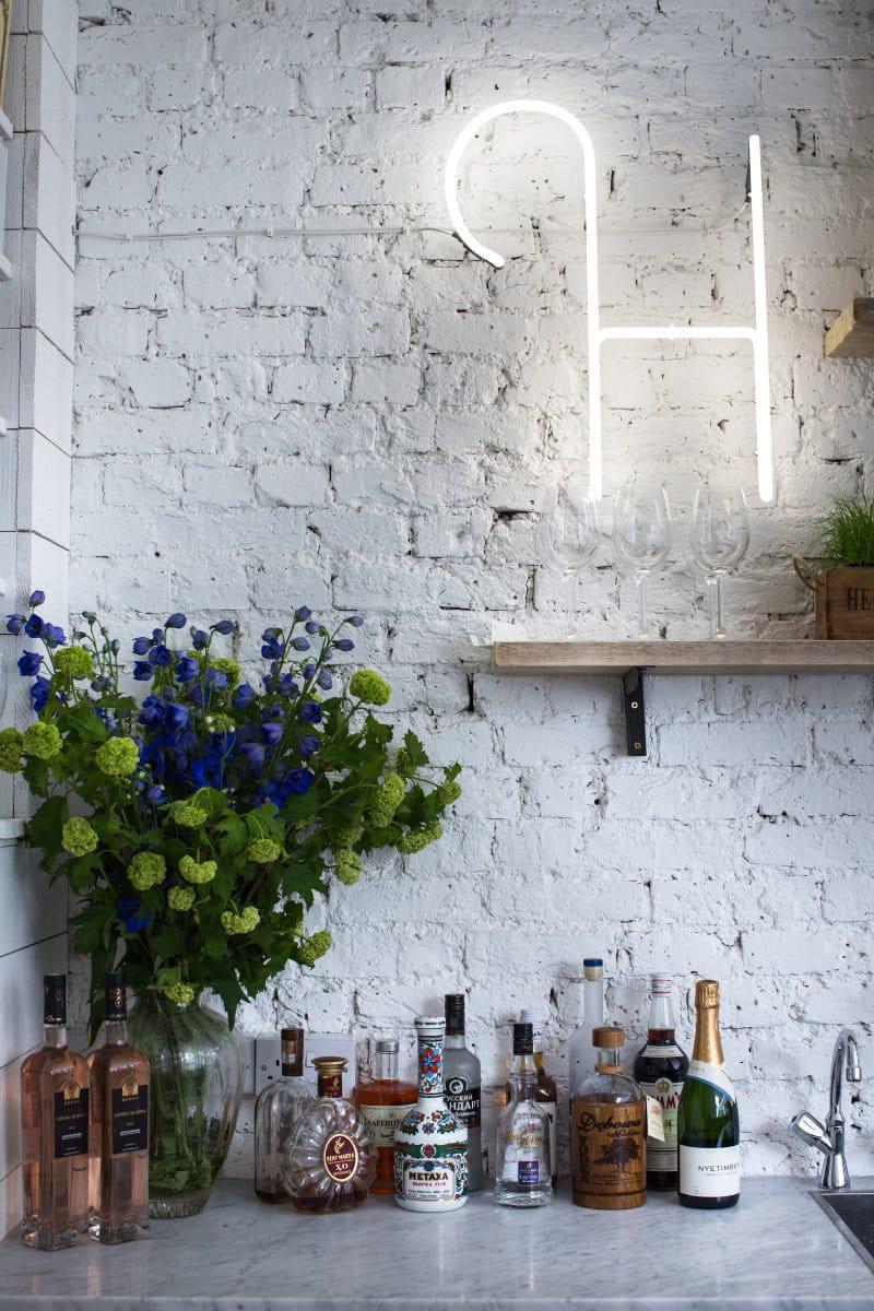 mur en brique comment l 39 utiliser pour sublimer son int rieur. Black Bedroom Furniture Sets. Home Design Ideas