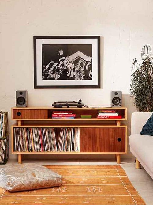 meuble pour vinyl