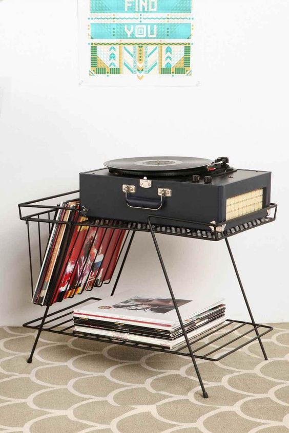meuble a vinyle