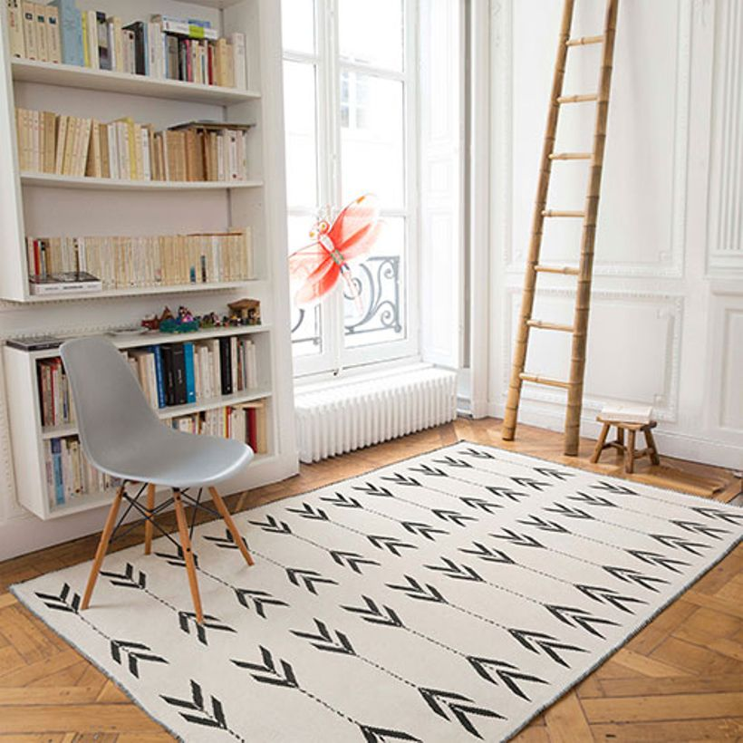 tapis scandinave quel mod le pour dynamiser la d co de votre salon. Black Bedroom Furniture Sets. Home Design Ideas