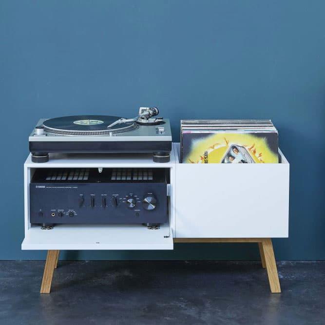 meuble rangement vinyl
