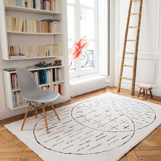 Tapis design scandinave