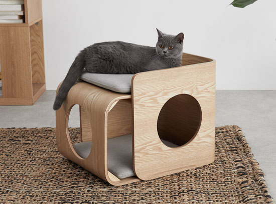 Mobilier design pour chat