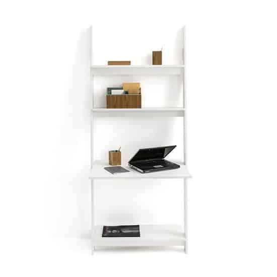 Petit bureau étagère