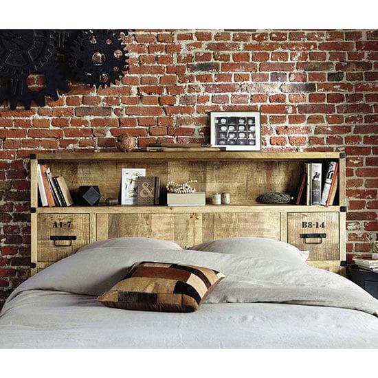 Tête de lit style industriel