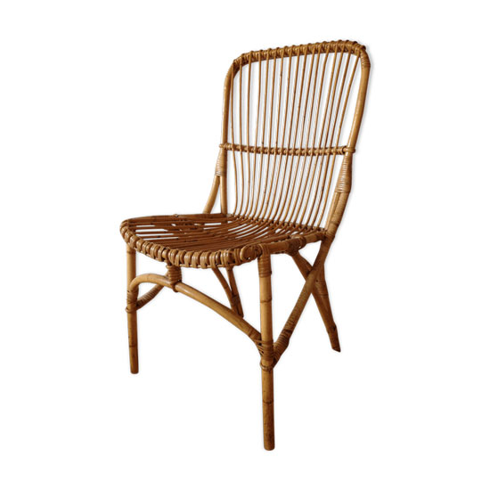 Chaise rotin d'occasion